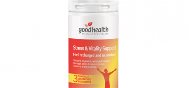 Feeling stressed and lacking in vitality?